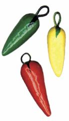 Mini Chile Pepper Ornaments - Handmade in Guatemala