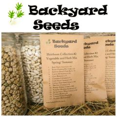 Heirloom Spring/ Summer Vegetable and Herb Seed Selection #2