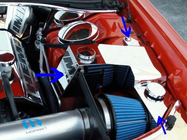 chrysler  dodge chargermagnum  srt  water tankpower factorystripe