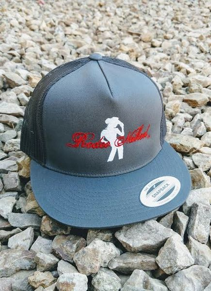 Grey Rodeo Naked Trucker Snapbacks  48f065056f77