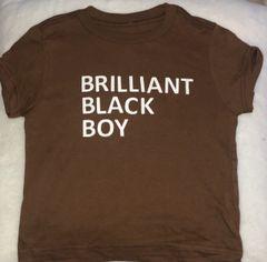 Brilliant Black Boy Tee shirt