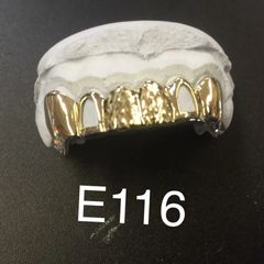 6 Teeth E116 gold Teeth