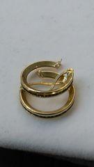 Hoop earrings, lady earrings, yellow Gold, 10 K xdszss