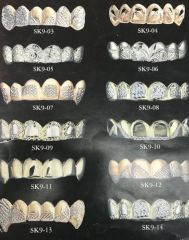 10kt Solid Gold gold Teeth order book