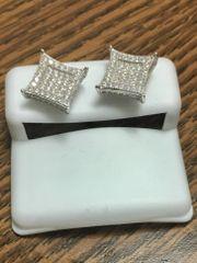 Sterling Silver 75808 Screwback Earring