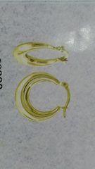 Lady hoop earrings 10 K solid yellokw Gold '.+cx,,xz