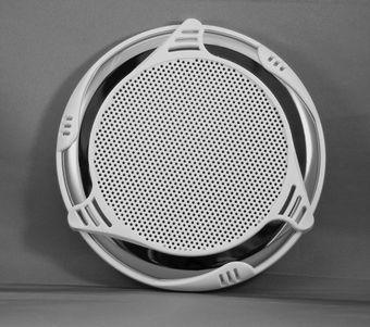 Marine Stereo Speaker Cover Custom Ss White Blue
