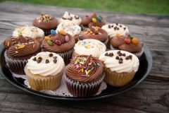 Decorated Cupcakes (14) Delivery Only