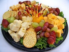Cheese and Cracker Trays