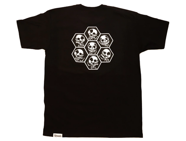 *NEW LitWoods Skully Short Sleeve T Shirt