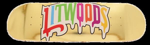 LitWoods Drip Logo/Gold Leaf Deck