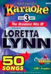 Loretta Lynn Chartbuster 50 Song Pack Cb5076