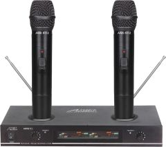 Audio 2000s Wireless Mics System Awm6112