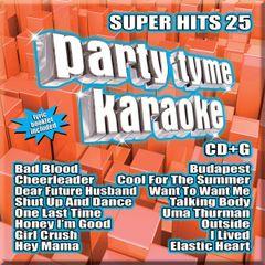 Party Tyme Karaoke Super Hits 25 Syb-1125