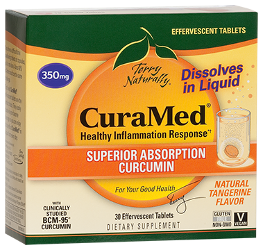 CuraMed® Effervescent Tablets (350 mg)