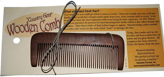 Wooden Comb, Standard