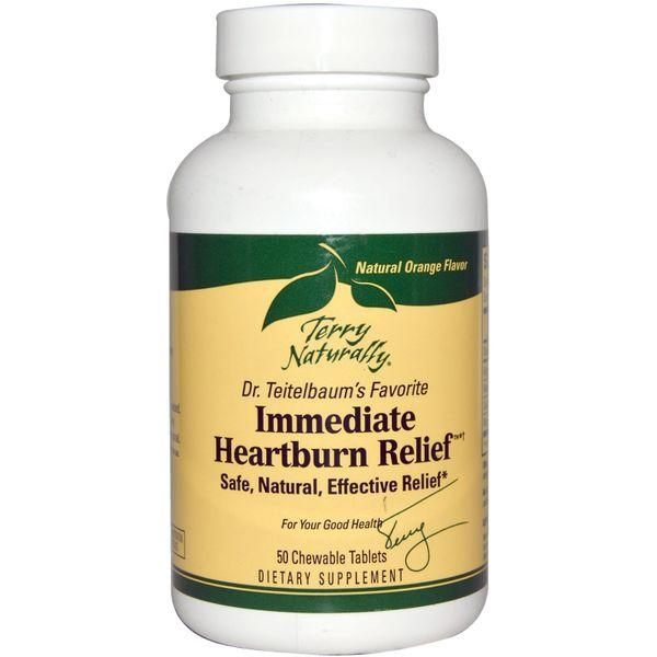 Immediate Heartburn Relief, 50 Chewable Tablets