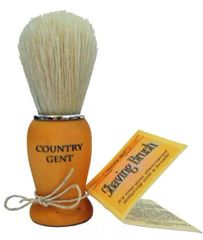 Country Gent Shaving Brush, Boar Bristle
