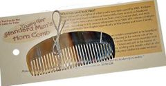 Horn Comb, Pocket Size