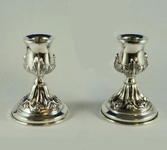 Candleholder Set Travelling Petruah by CJ Art