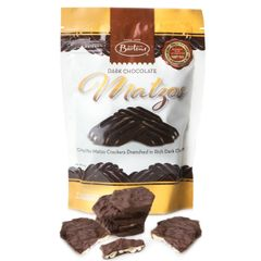 Bartons Dark Chocolate Covered Mini Matzos - 5.5 oz. OUP - Kosher for Passover