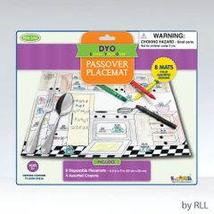 Color Your Own Chanukah Placemats