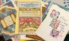 Greeting cards assorted Package of 6