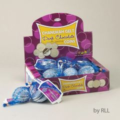Chanukah Gelt Dark Chocolate Coins