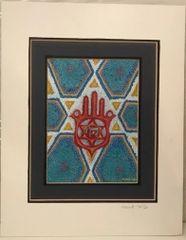 Hamsah Print by Miriam Novack