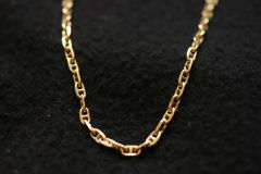 24 Inches Gold Necklace 14 Kt