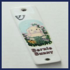 Ceramic Animal Design Mezuzah Case Perfect For Kids 4 1/8 Inches L X 1 1/8 Inches W - SCROLL SOLD SEPARATELY