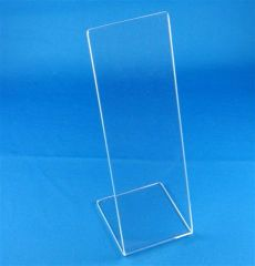 Lucite Stand Clear or Black For Mezuzahs