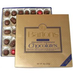 Bartonettes - Bittersweet Assortments Chocolate - OUP - Kosher for Passover - 8 oz.