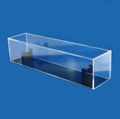 Lucite Stand For Large Yad, Black Base With Clear Top