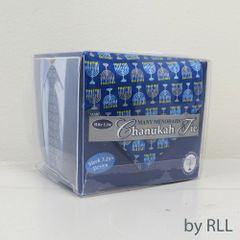 """Many Menorahs"" Silk Chanukah Tie"