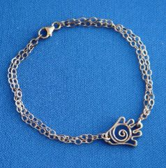 Sterling Silver Bracelet With Chamsah