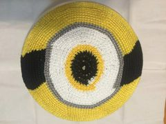 Kippah Baby Crochet Minions Hand Crochet