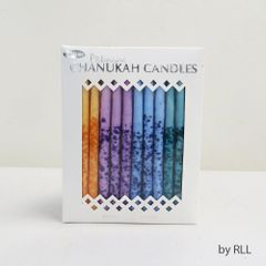 Premium Chanukah Candles - Hand Decorated
