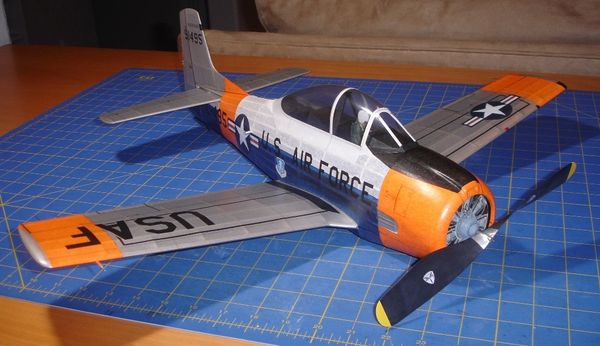 "North American T-28 24"" wing span"