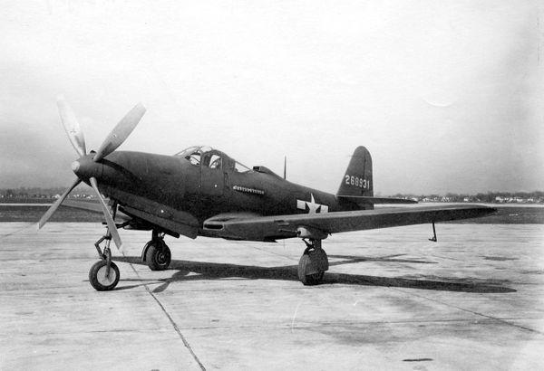 """Bell P-63 24"""" (Prototype*)"""