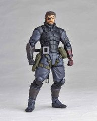 Revoltech Union Creative Vulcanlog Venom Snake Sneaking Suit Action Figure
