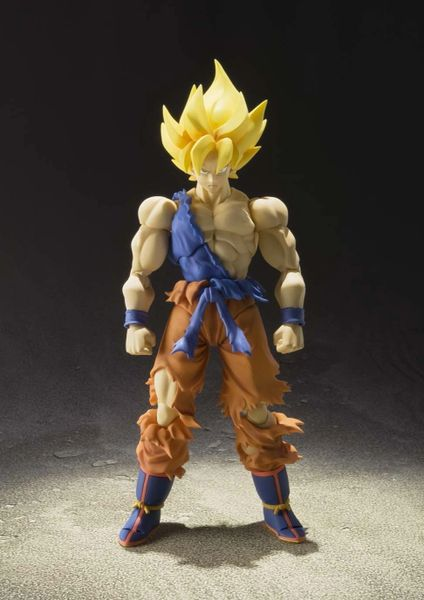 bandai tamashii nations dragon ball z super saiyan goku - 424×600
