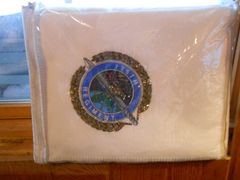 Vintage 175th RTI Retirement Blanket