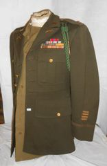 SOLD! Sell now Details about WW2 US Army Officers Dress Uniform 1942 dated Jacket for 2LT Donald G. Hemler