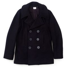 US NAVY MEN'S PEA COAT SIZE 40R