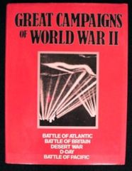 Great Campaigns Of World War Ii Hardcover – Illustrated, 1988