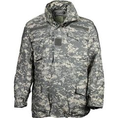 used ACU Camouflage, BDU M-65 Field Jacket