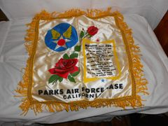 Vintage Sweethearts Pillow Case - Parks Air Force Base, California