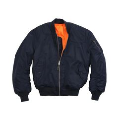 M-1 Flight Jacket Color Navy Blue Size Large