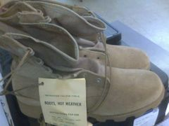 Tan Hot weather Boots